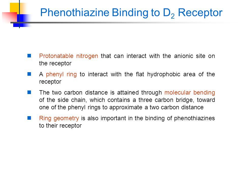 Phenothiazine Binding to D2 Receptor