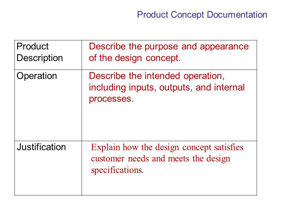 Product Concept Documentation
