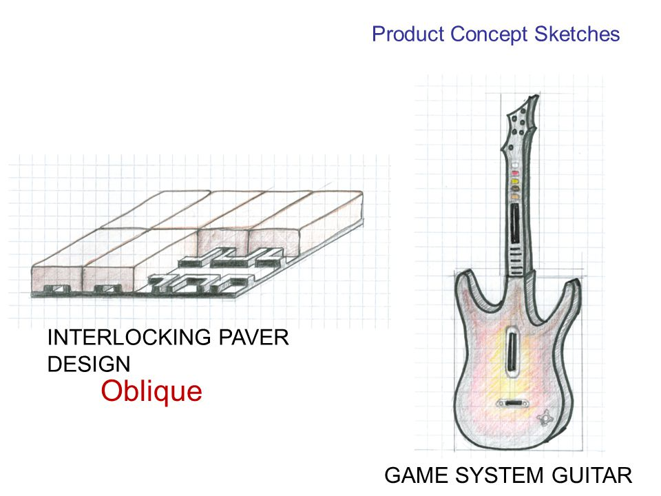 Product Concept Sketches