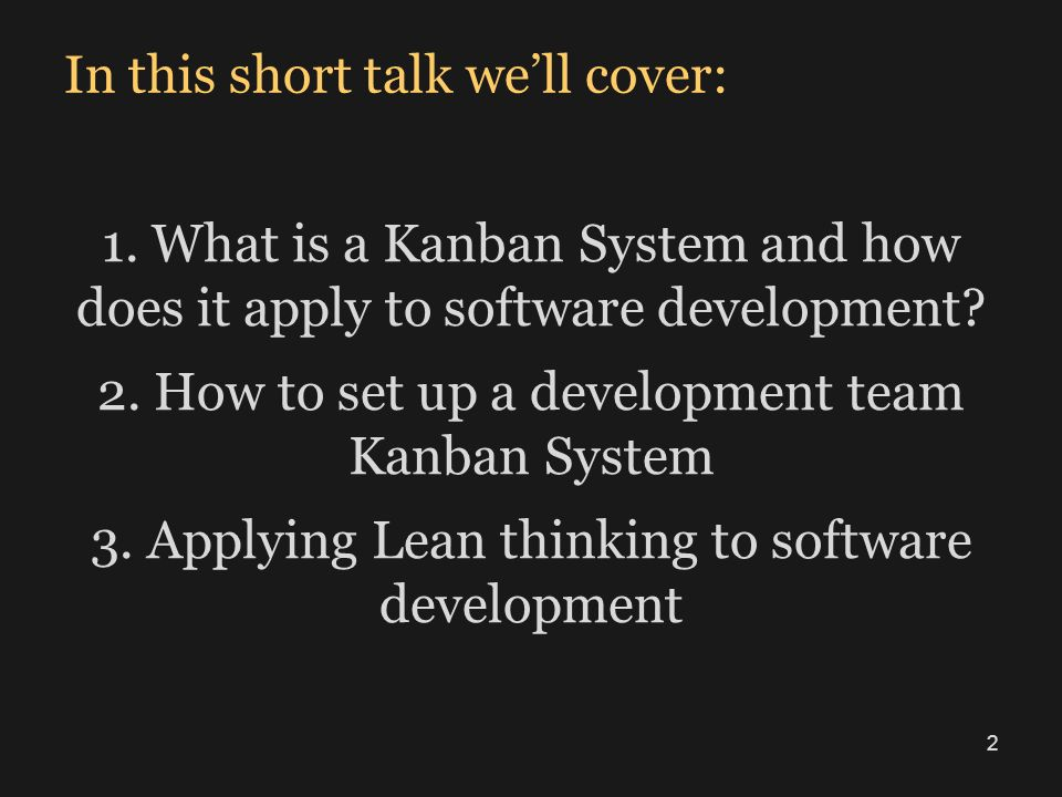 In this short talk we'll cover: