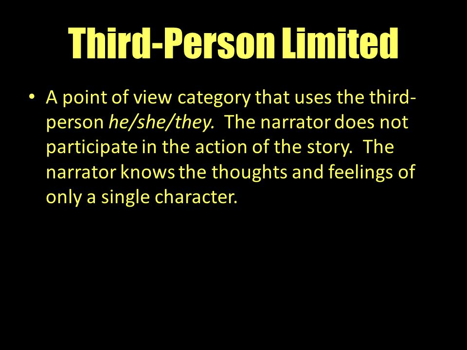 Third-Person Limited