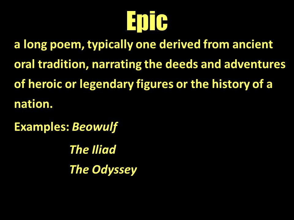 A comparison of the epic of beowulf and the odyssey
