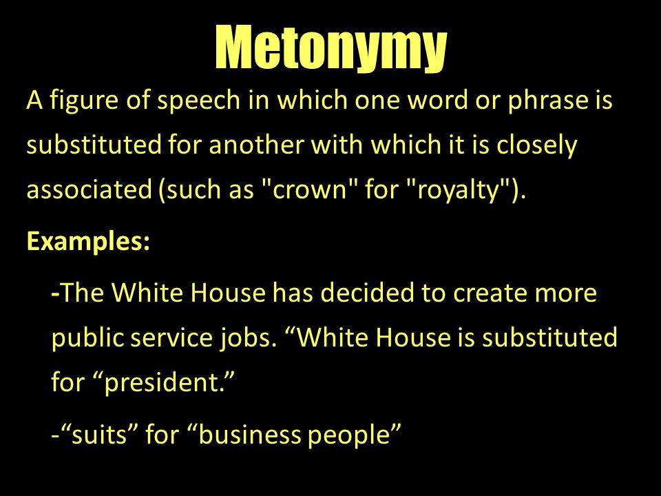 Metonymy