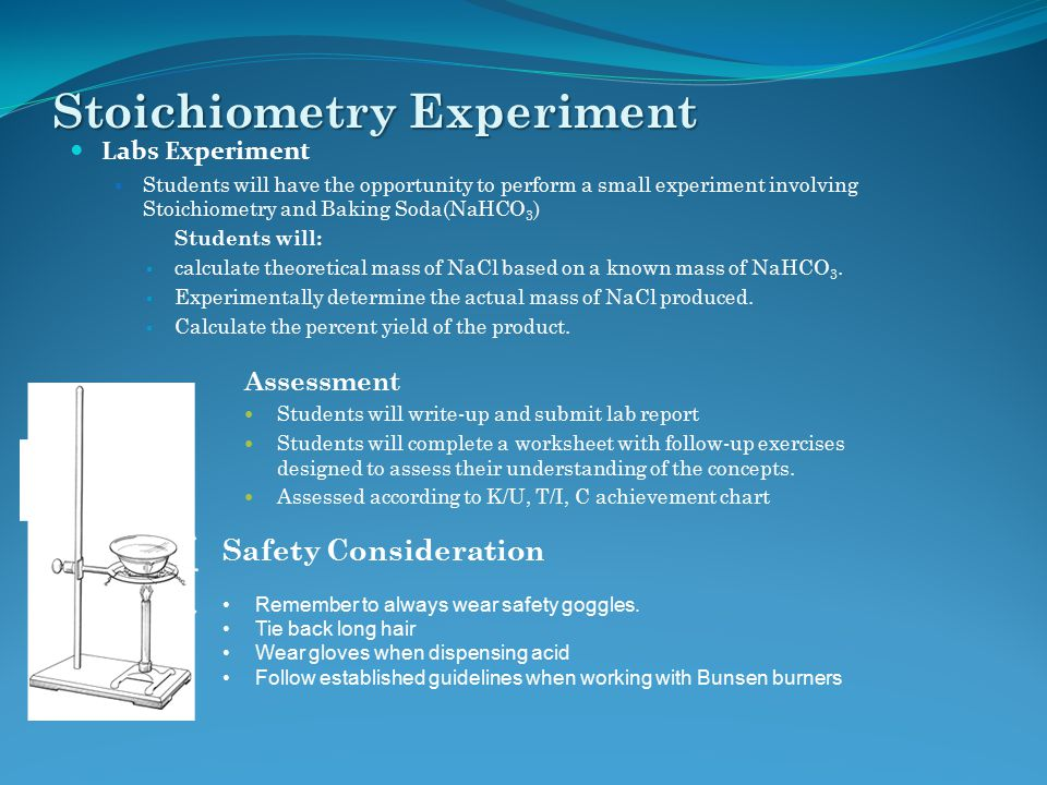 Stoichiometry Experiment
