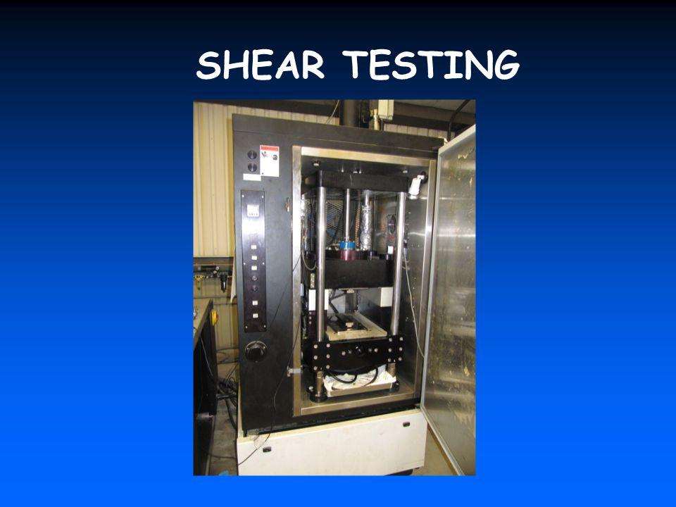 SHEAR TESTING