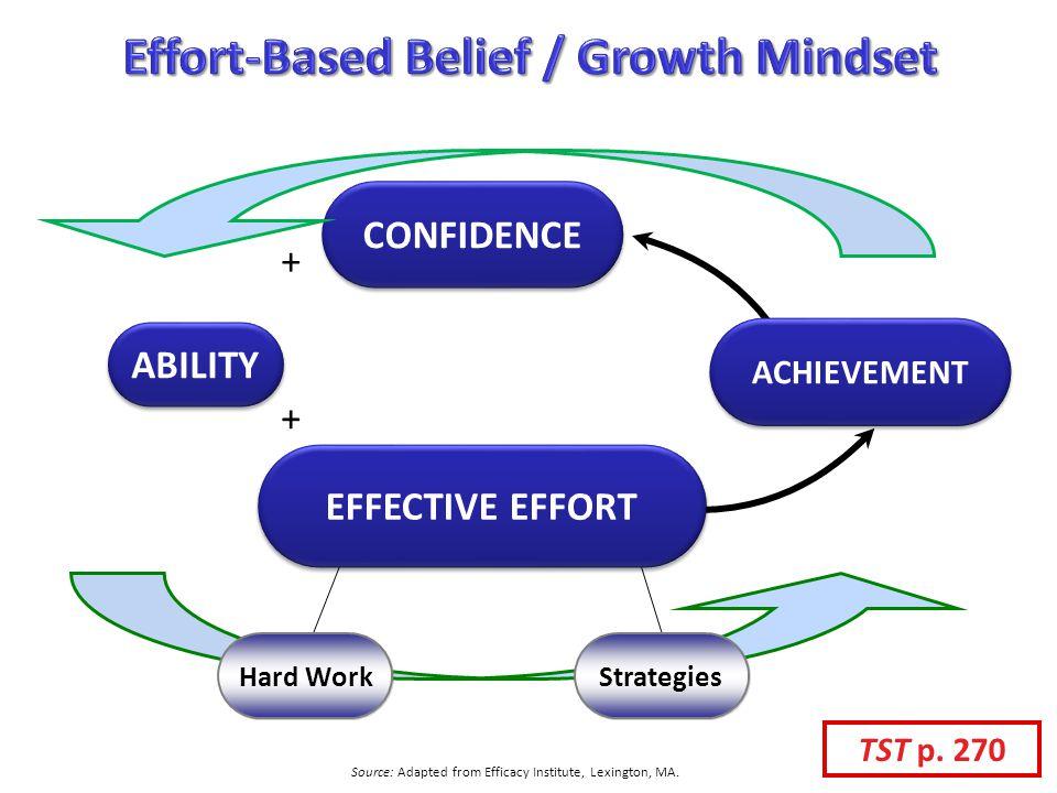Effort-Based Belief / Growth Mindset