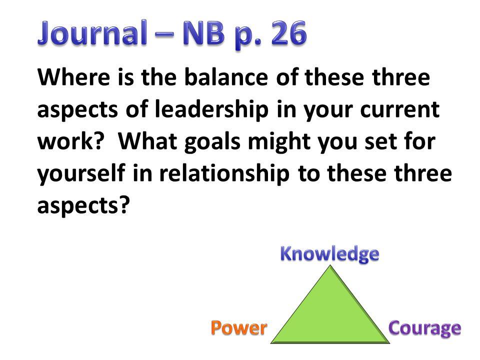 Journal – NB p. 26