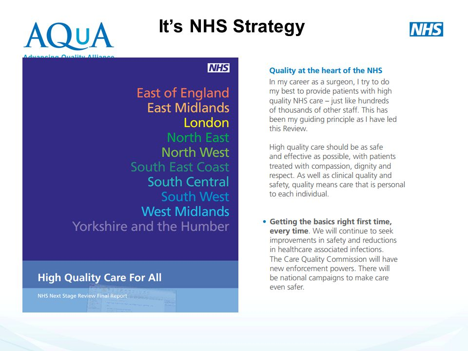 It's NHS Strategy