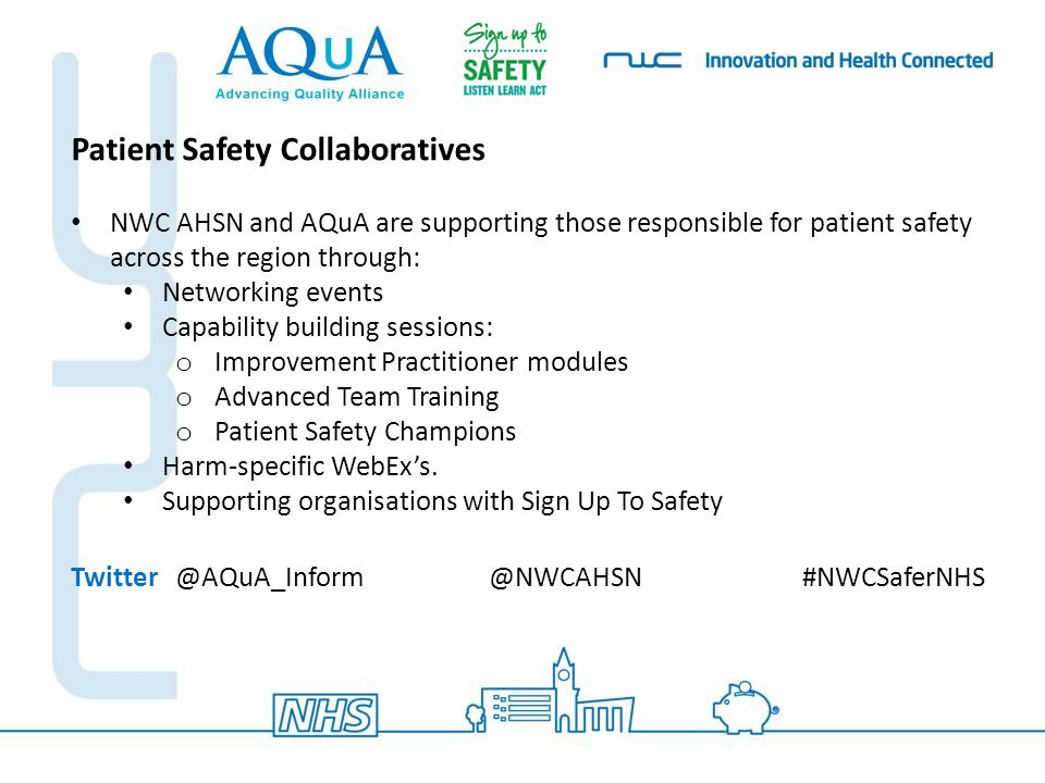 Patient Safety Collaboratives