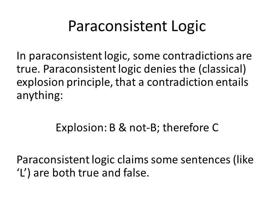 Paraconsistent Logic