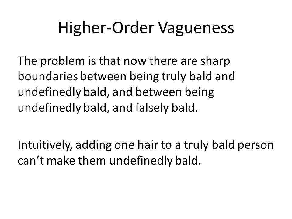 Higher-Order Vagueness