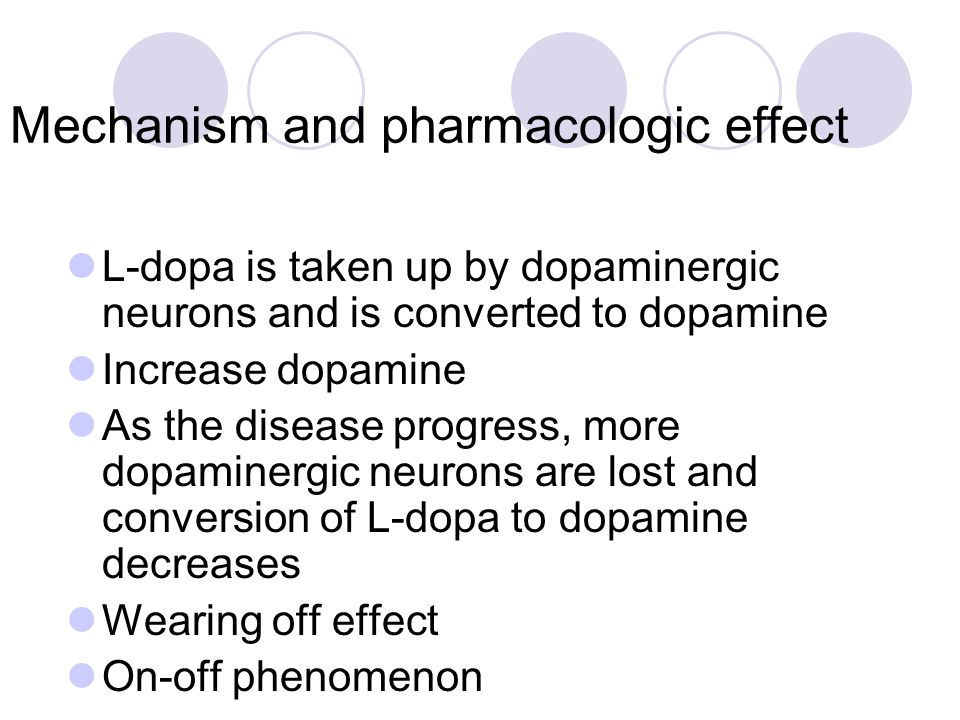 Mechanism and pharmacologic effect