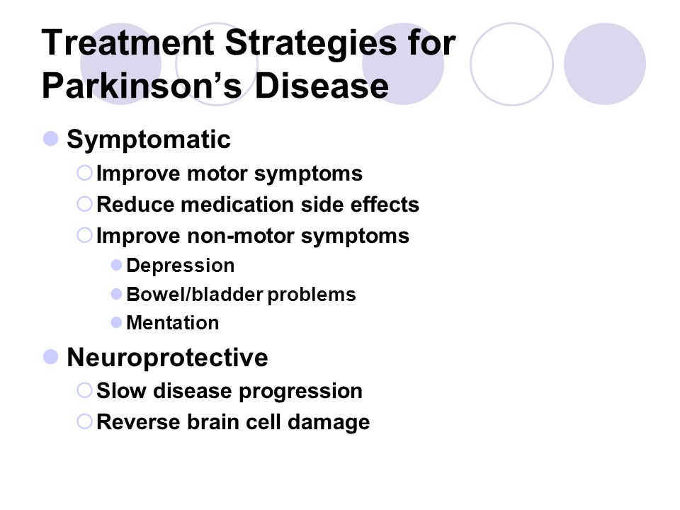 Treatment Strategies for Parkinson's Disease