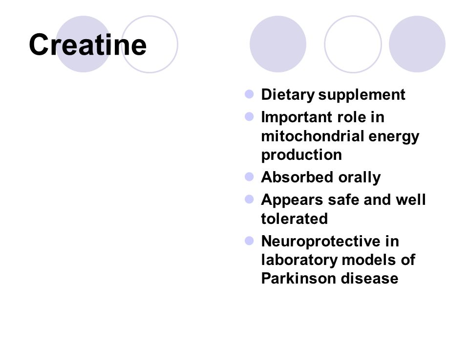 Creatine Dietary supplement