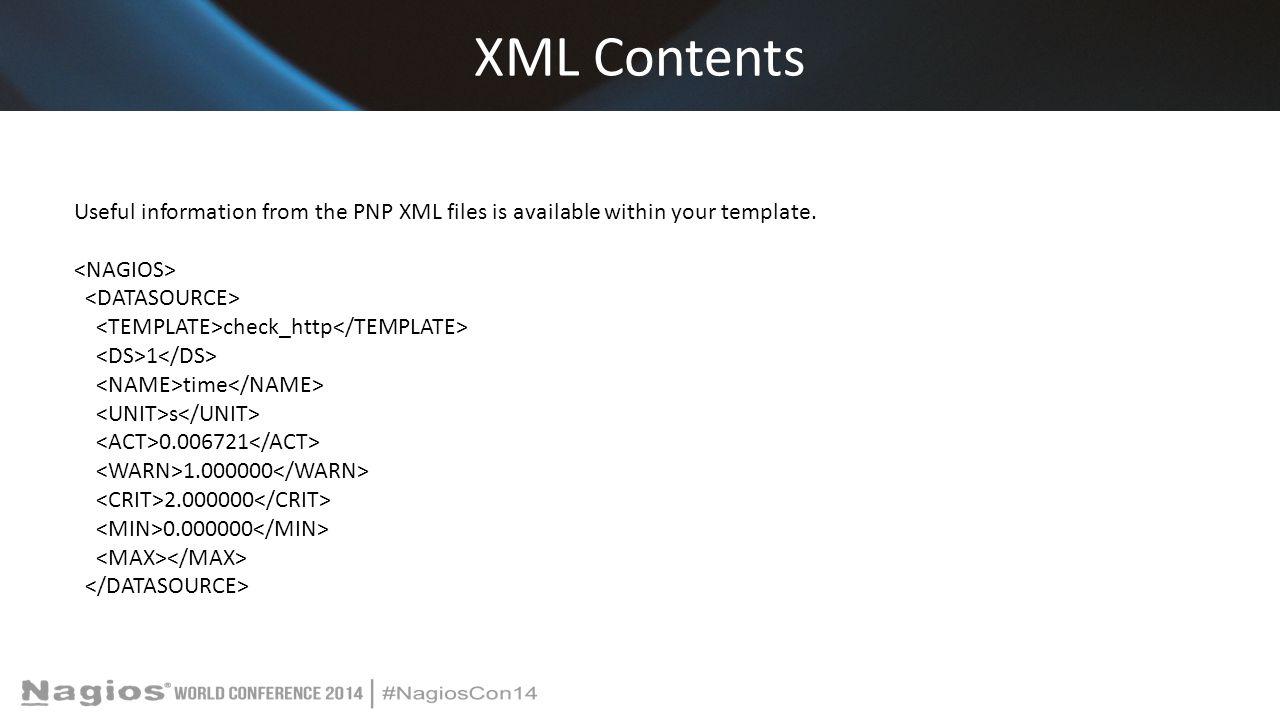 XML Contents