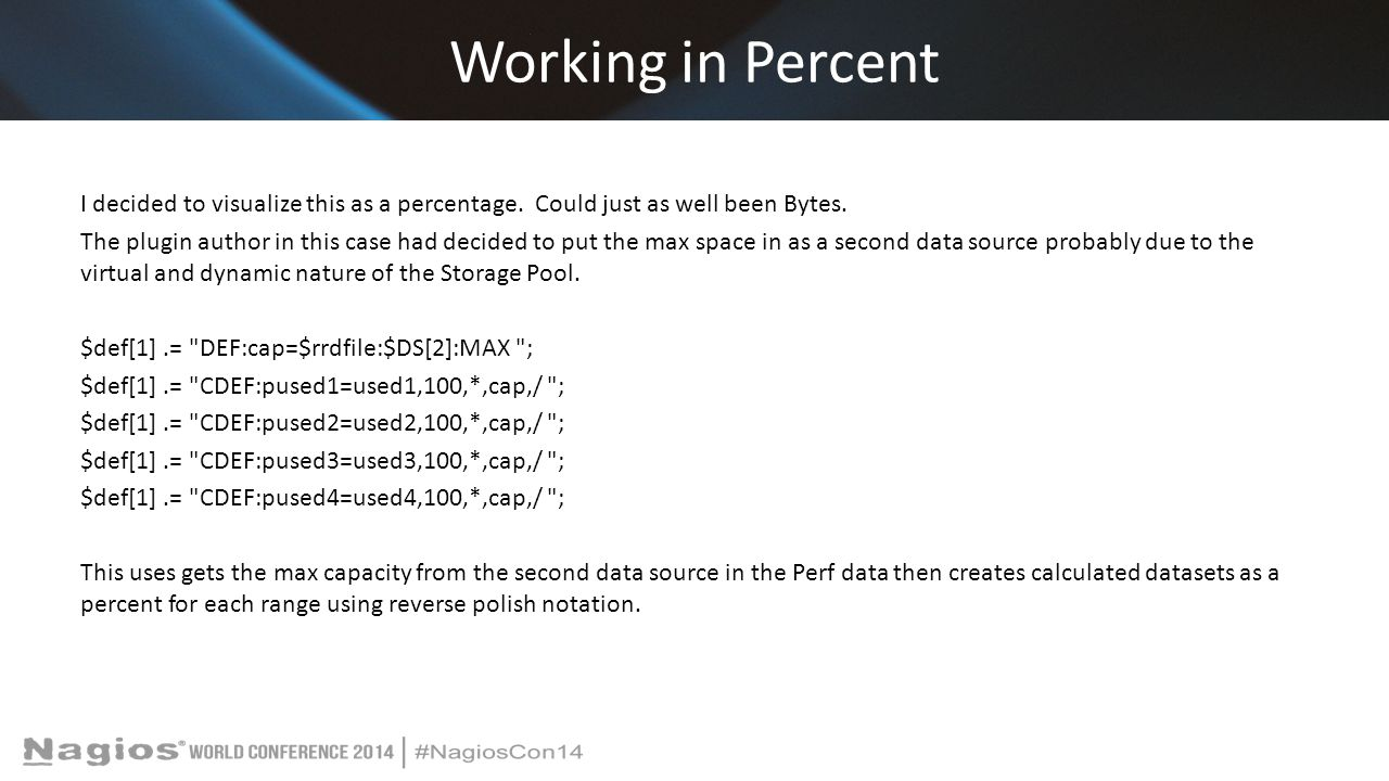 Working in Percent