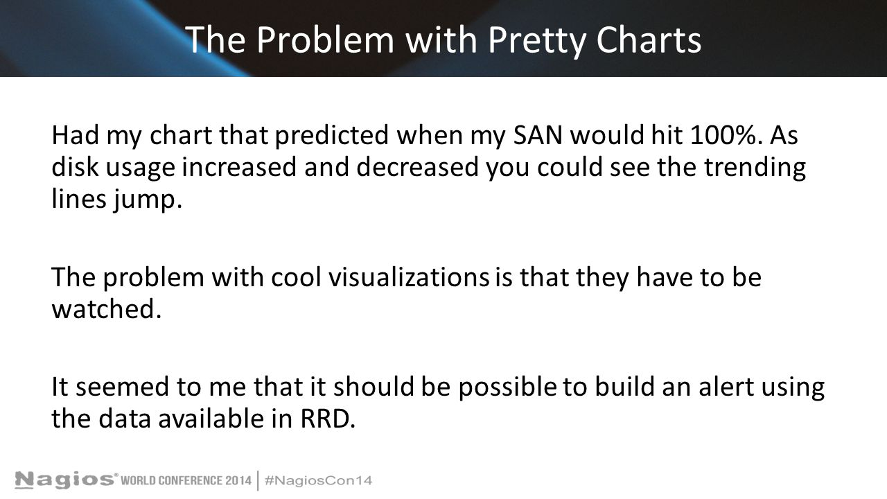 The Problem with Pretty Charts