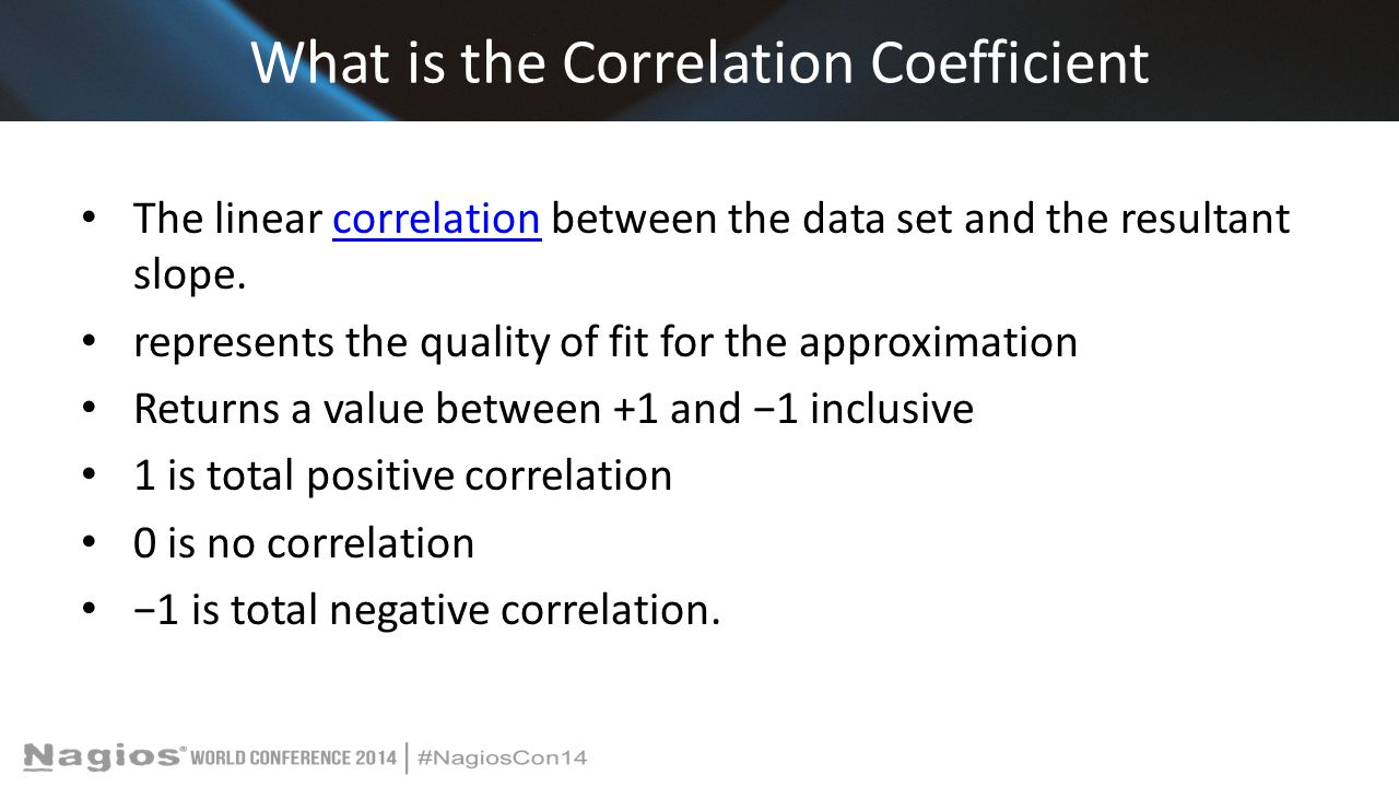 What is the Correlation Coefficient