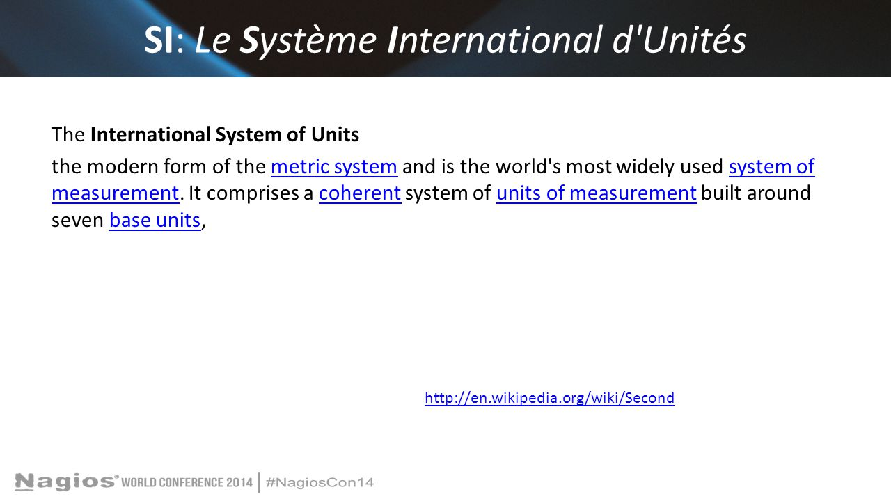 SI: Le Système International d Unités