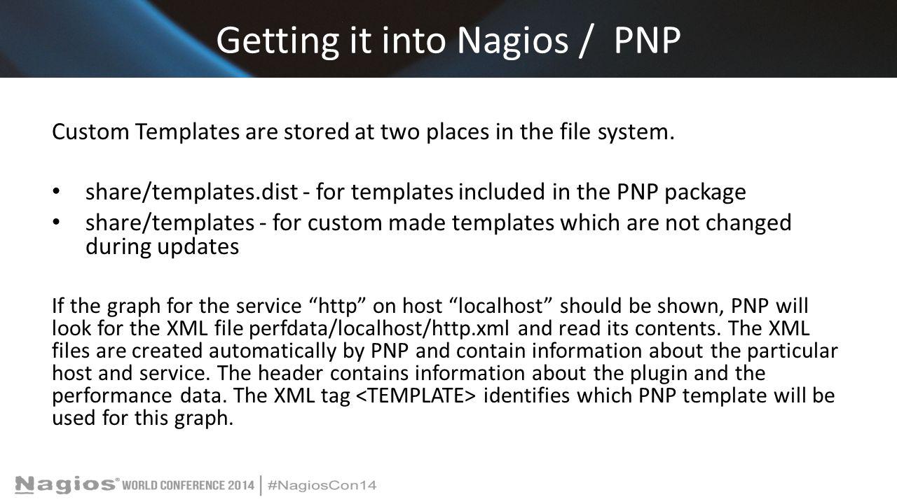 Getting it into Nagios / PNP