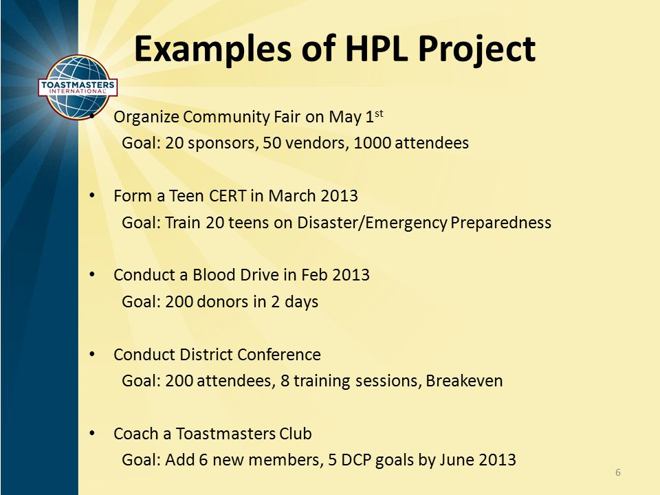 Examples of HPL Project