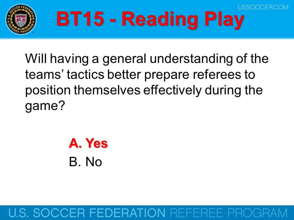 BT15 - Reading Play