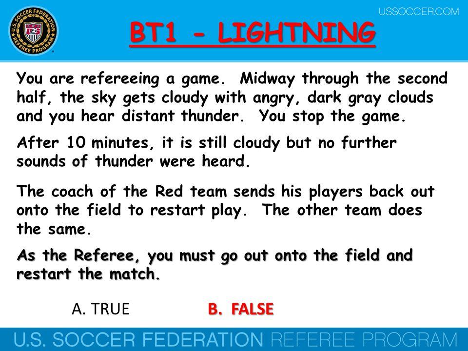 BT1 - LIGHTNING