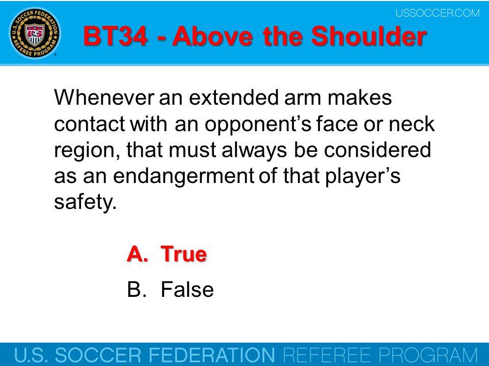 BT34 - Above the Shoulder