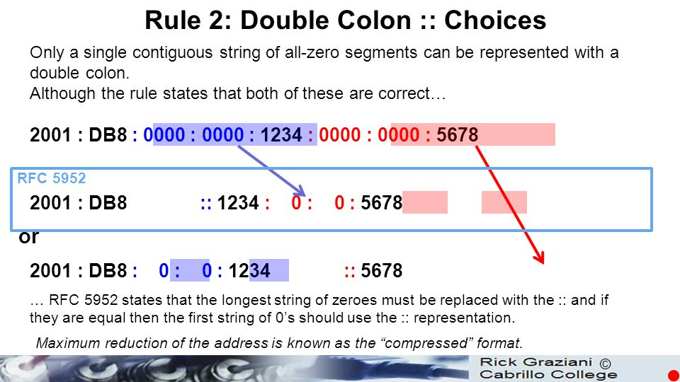 Rule 2: Double Colon :: Choices