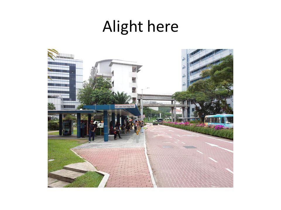 Alight here