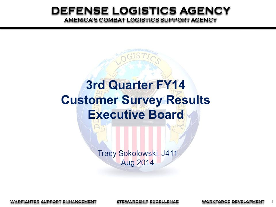 Customer Survey Results