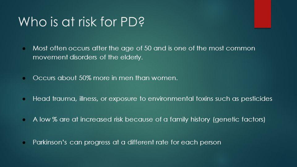 Pathology of Parkinsons