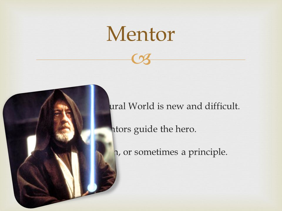 Mentor The Supernatural World is new and difficult.