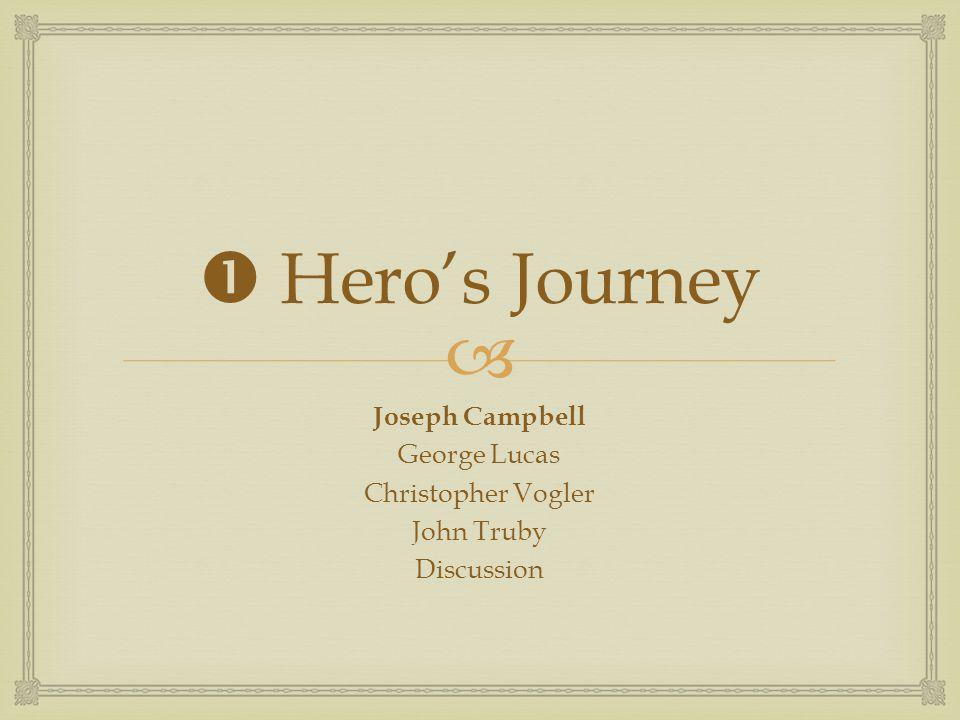  Hero's Journey Joseph Campbell George Lucas Christopher Vogler