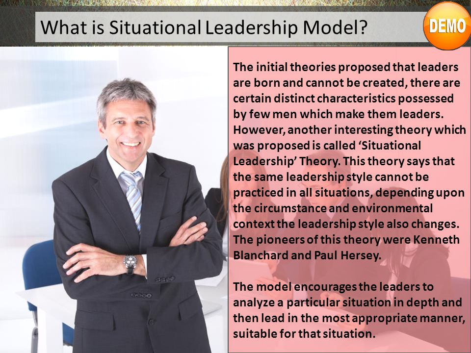 What is Situational Leadership Model