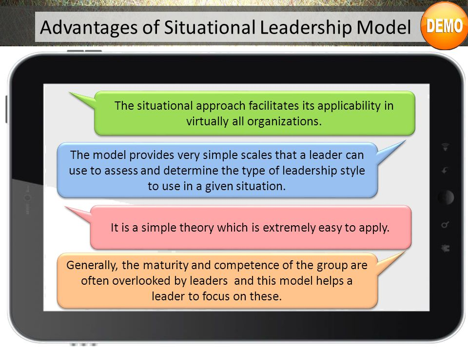 Negatives of a Situational Leadership Style