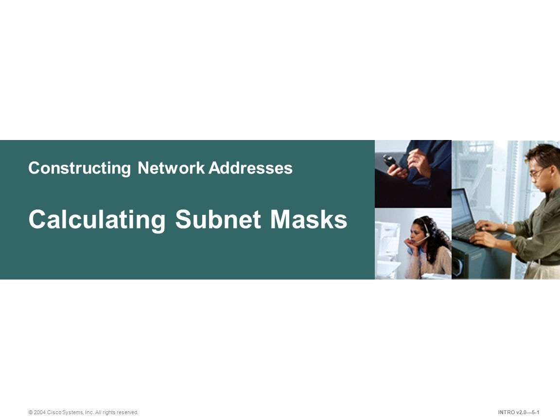 Calculating Subnet Masks