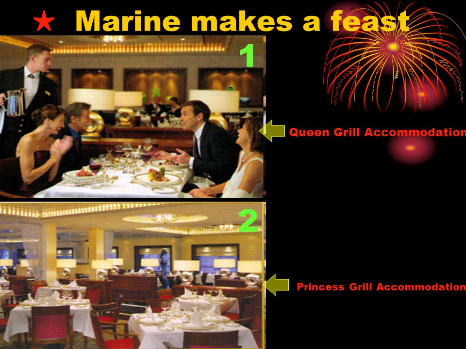 1 2 ★ Marine makes a feast Queen Grill Accommodation