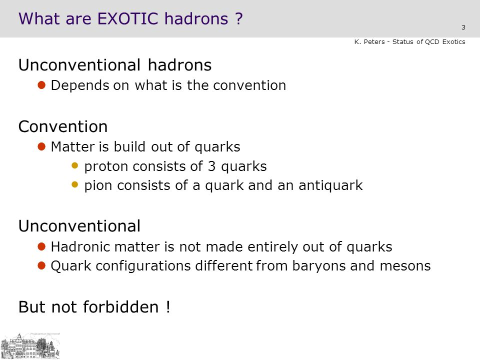 What are EXOTIC hadrons