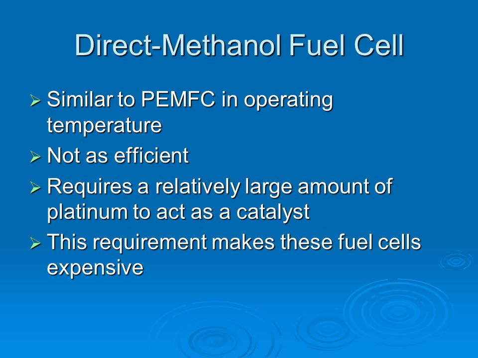 Direct-Methanol Fuel Cell