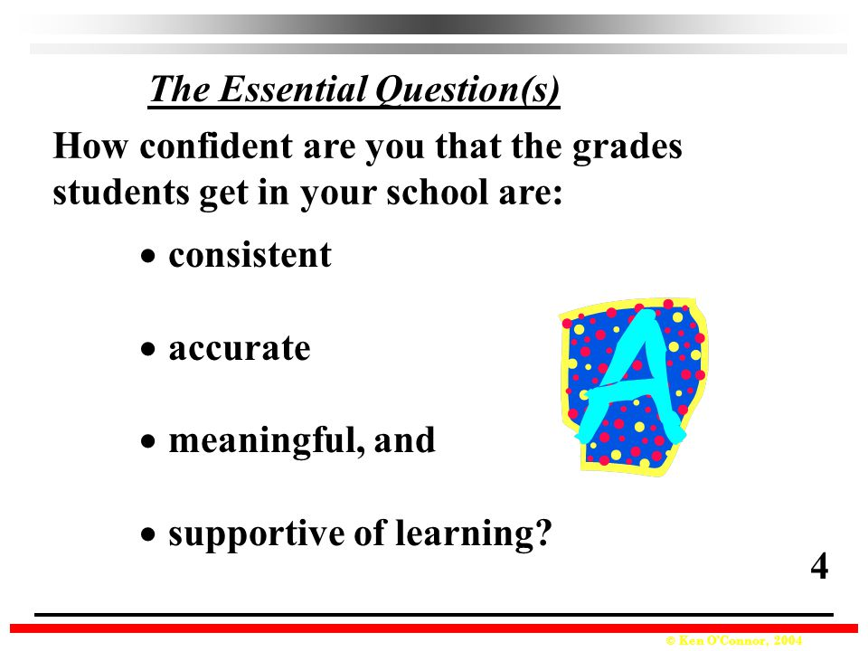 The Essential Question(s)
