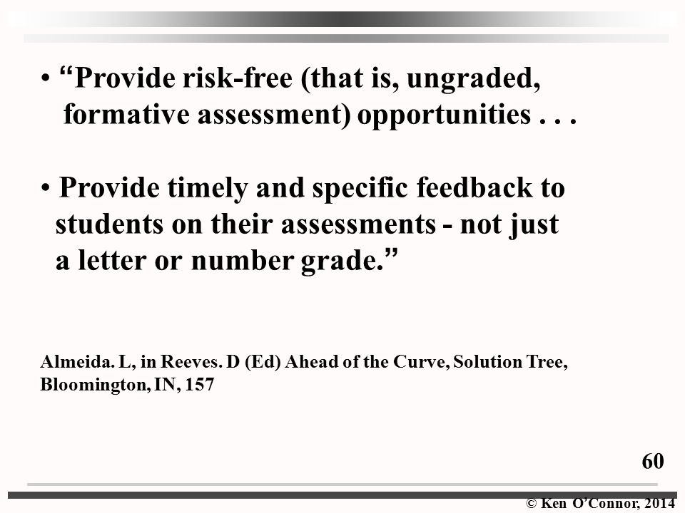 Provide risk-free (that is, ungraded,