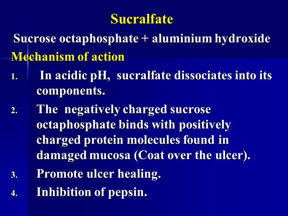 Sucrose octaphosphate + aluminium hydroxide