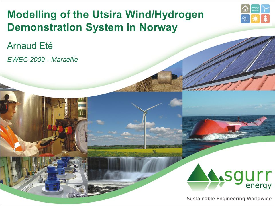 Modelling of the Utsira Wind/Hydrogen Demonstration System in Norway