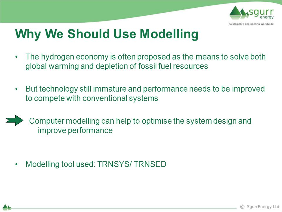 Why We Should Use Modelling