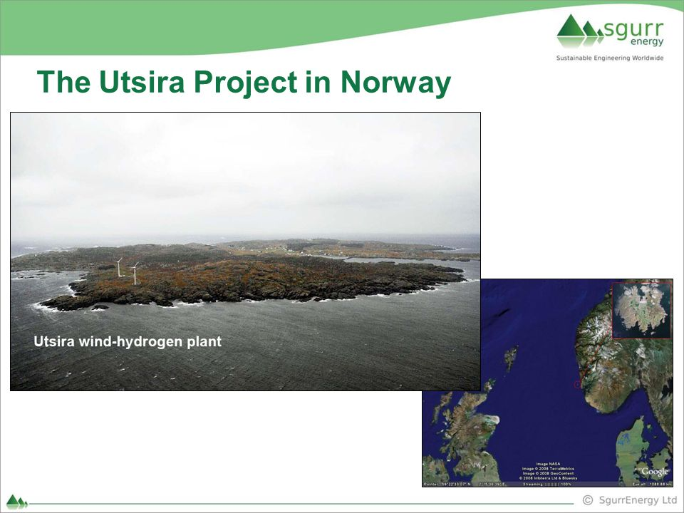 The Utsira Project in Norway