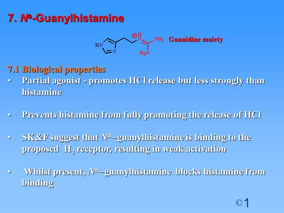 7. Na-Guanylhistamine 7.1 Biological properties