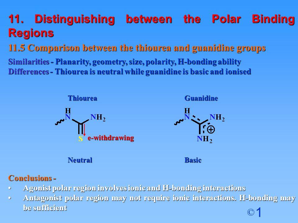 11. Distinguishing between the Polar Binding Regions