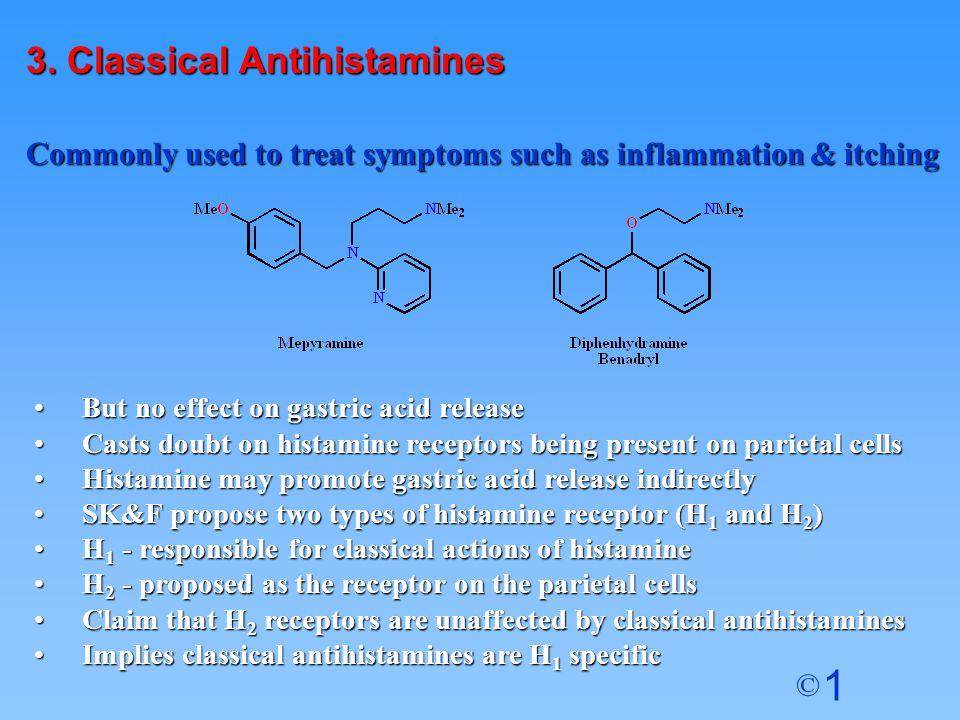 3. Classical Antihistamines