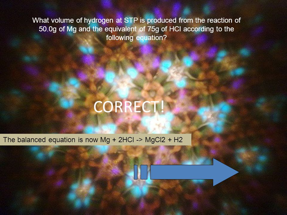 What volume of hydrogen at STP is produced from the reaction of 50